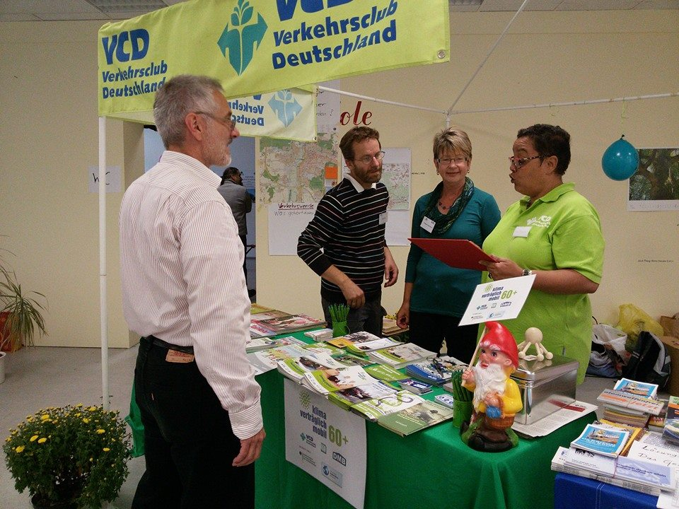 Nachhaltigkeitstag Erlangen 2014 - VCD Stand