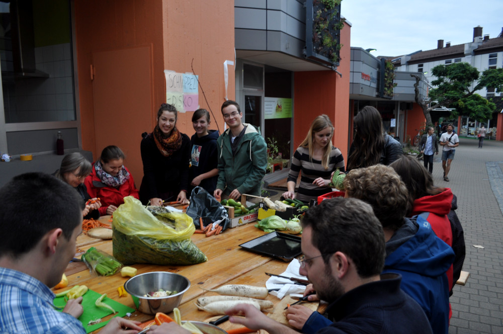 Nachhaltigkeitstag Erlangen - Schnippeldisco