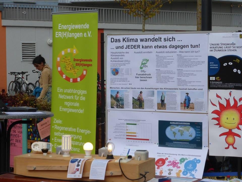 Nachhaltigkeitstag Erlangen - Energiewende Initiative