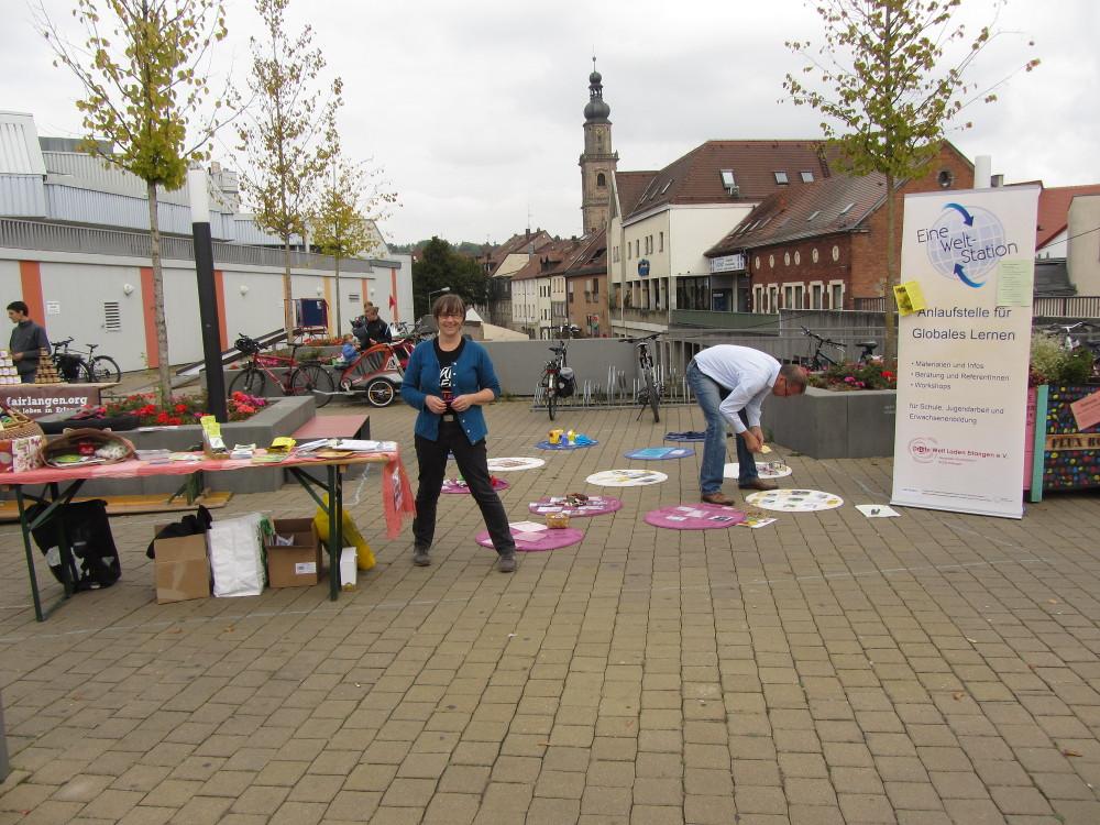 Nachhaltigkeitstag Erlangen - Fairtrade Parcours