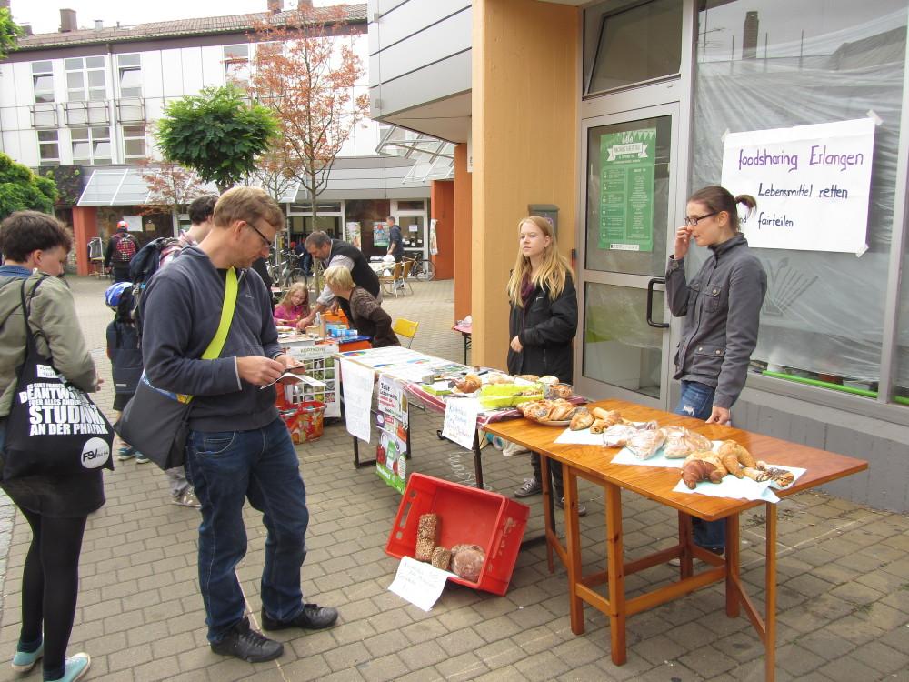 Nachhaltigkeitstag Erlangen - Foodsharing