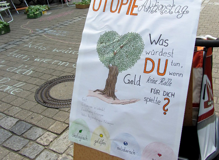 Das war der Utopie-Aktionstag in Erlangen
