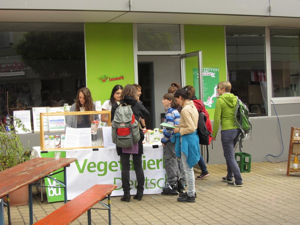 Nachhaltigkeitstag Erlangen - Pflanzenmilchbar